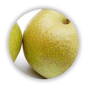 自然栽培の梨